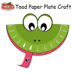 Toad Paper Plate