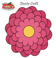 Zinnia Kids Craft