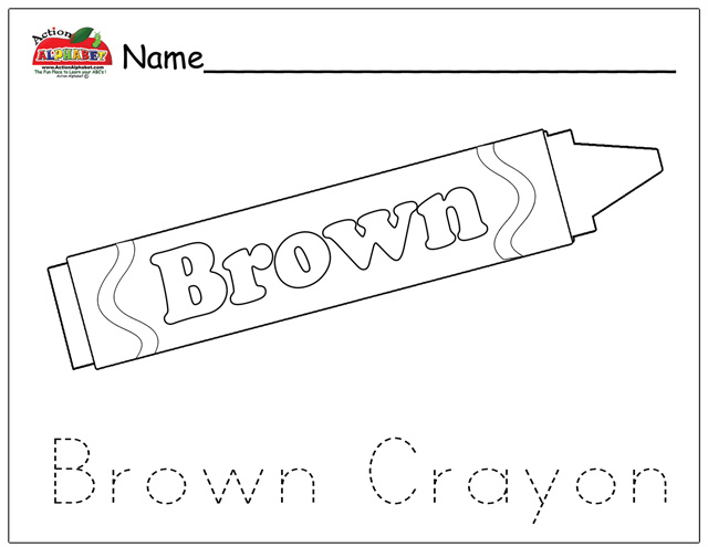 Brown Coloring Pages - Democraciaejustica