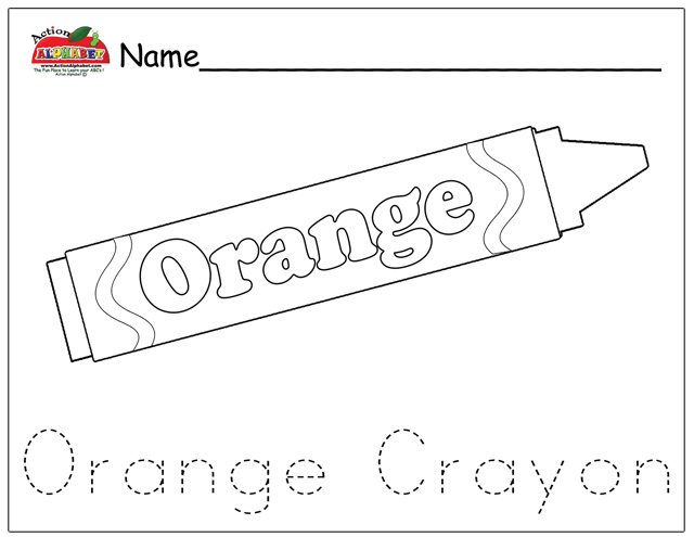 crayon color page - coloring pages preschool lesson plans