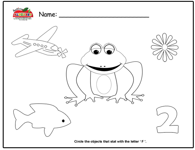letter f activities preschool lesson plans