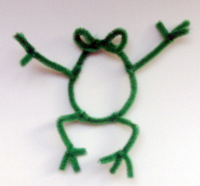 Quick Craft Frog Pipe Cleaner