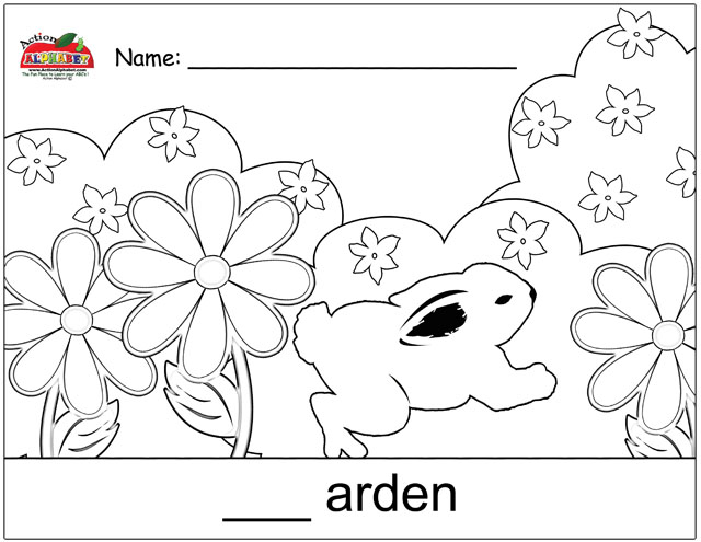 garden coloring pages preschool - photo#21