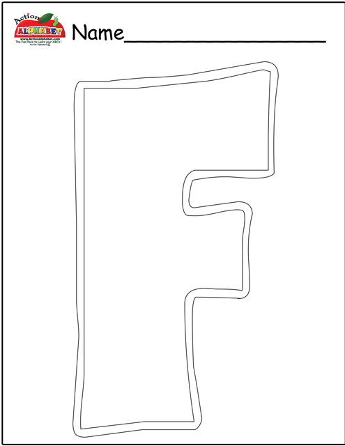 Letter f activities preschool lesson plans for Letter f decoration