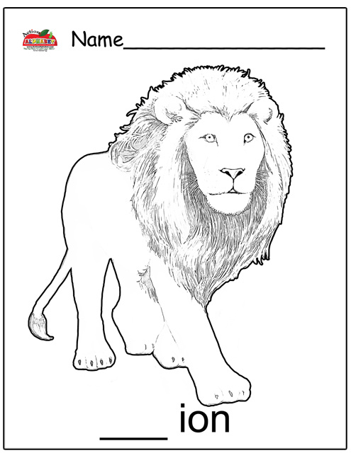 lion lamb coloring page - pic of lion and lamb coloring pages