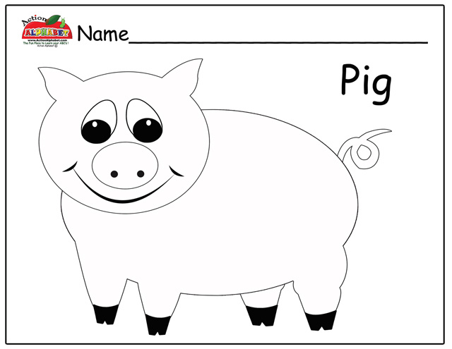 ... Pigs Coloring Pages three little pigs coloring pages Pig Coloring