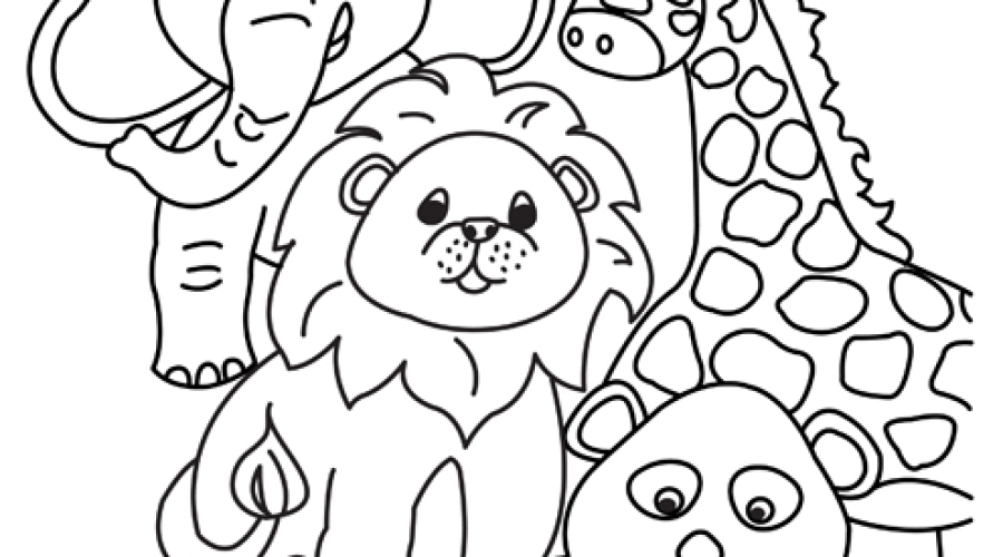 Animal_Coloring_Page