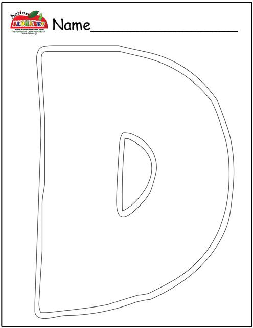 Letter D Activities