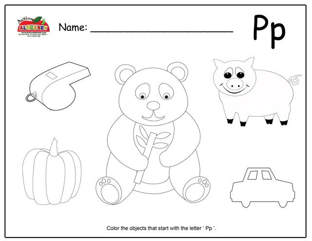 Letter P Activities | Preschool Lesson Plans